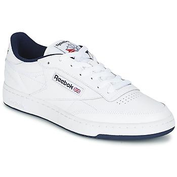 Boty Muži Nízké tenisky Reebok Classic CLUB C 85 Bílá / Modrá