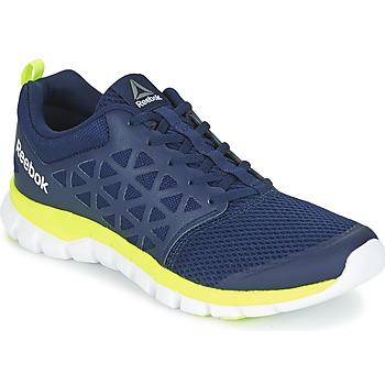 Boty Muži Fitness / Training Reebok Sport SUBLITE XT CUSHION Modrá / Žlutá