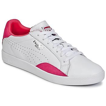 Boty Ženy Nízké tenisky Puma WNS MATCH LO BASIC.W Bílá / Fialová