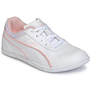 Boty Dívčí Nízké tenisky Puma JR MYNDY 2 SL.WHT Bílá