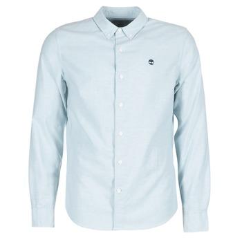 Textil Muži Košile s dlouhymi rukávy Timberland LS RATTLE RIVER OXFORD SHIRT SLIM Modrá