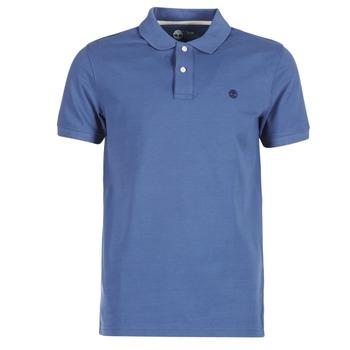 Textil Muži Polo s krátkými rukávy Timberland SS MILLERS RIVER PIQUE REG POLO Modrá
