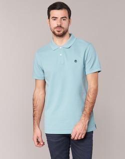 Textil Muži Polo s krátkými rukávy Timberland SS MILLERS RIVER PIQUE REG POLO Modrá / Světlá