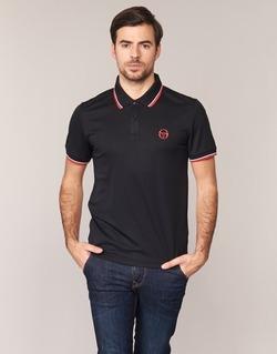 Textil Muži Polo s krátkými rukávy Sergio Tacchini SPORTLIFE Černá