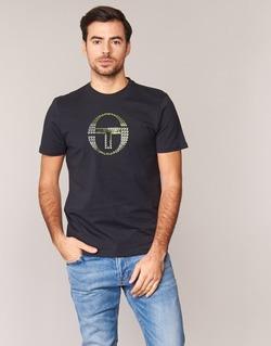 Textil Muži Trička s krátkým rukávem Sergio Tacchini DAVE TEE-SHIRT Černá