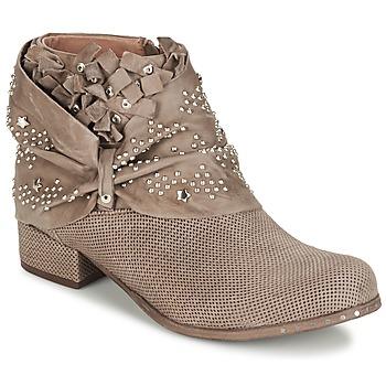 Boty Ženy Kotníkové boty Mimmu STROPFA Šedobéžová