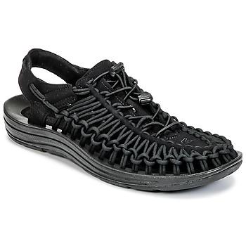 Boty Muži Sportovní sandály Keen UNEEK Černá