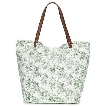 Taška Ženy Velké kabelky / Nákupní tašky Petite Mendigote CLEA Krémově bílá / Khaki