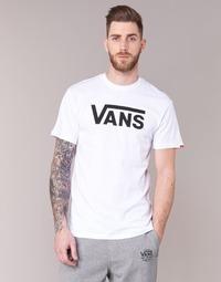 Textil Muži Trička s krátkým rukávem Vans VANS CLASSIC Bílá
