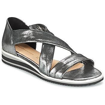 Boty Ženy Sandály Salamander REBECCA Stříbrná