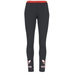 Textil Ženy Legíny adidas Originals TREFOIL LEGGING Černá / Růžová