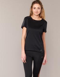 Textil Ženy Trička s krátkým rukávem adidas Performance RS SS TEE W Černá