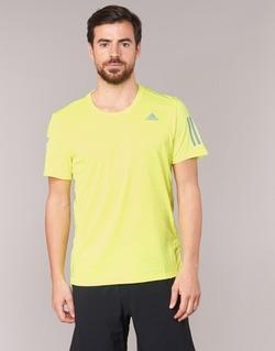 Textil Muži Trička s krátkým rukávem adidas Performance RS SS TEE M Žlutá