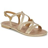 Boty Ženy Sandály Esprit NAZLI SANDAL Zlatá