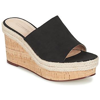 Boty Ženy Sandály Esprit FARY MULE Černá