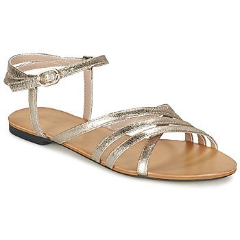 Boty Ženy Sandály Esprit ADYA SANDAL Stříbrná