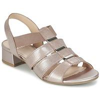 Boty Ženy Sandály Caprice RIJOULE Růžová / Metalíza