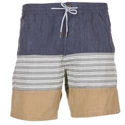 Textil Muži Kraťasy / Bermudy Volcom THREEZY JAMMER Tmavě modrá / Béžová / Šedá