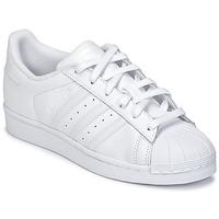 Boty Děti Nízké tenisky adidas Originals SUPERSTAR Bílá
