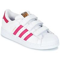 Boty Dívčí Nízké tenisky adidas Originals SUPERSTAR FOUNDATIO Bílá