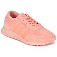 Boty Dívčí Nízké tenisky adidas Originals LOS ANGELES J Růžová / Korálová