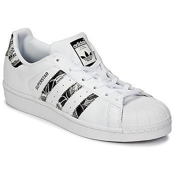 Boty Ženy Nízké tenisky adidas Originals SUPERSTAR W Bílá