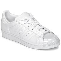 Boty Ženy Nízké tenisky adidas Originals SUPERSTAR GLOSSY TO Bílá