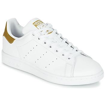 Boty Děti Nízké tenisky adidas Originals STAN SMITH J Bílá