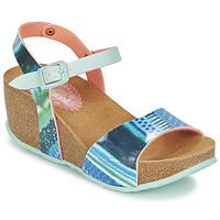 Boty Ženy Sandály Desigual BIO 7 BLUE AQUARELLA Modrá