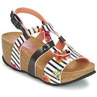 Boty Ženy Sandály Desigual BIO 9 FLORES Černá / Bílá
