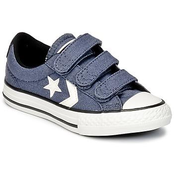 Boty Chlapecké Nízké tenisky Converse STAR PLAYER 3V VINTAGE CANVAS OX Modrá / Bílá