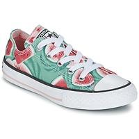 Boty Dívčí Nízké tenisky Converse CHUCK TAYLOR ALL STAR WATERMELON OX Zelená / Červená / Bílá