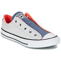 Boty Děti Nízké tenisky Converse CHUCK TAYLOR ALL STAR SLIP SUMMER FUNDAMENTALS SLIP Šedá / Modrá / Oranžová