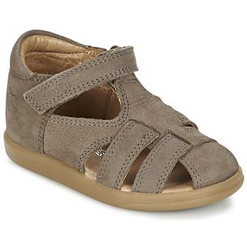 Boty Chlapecké Sandály Shoo Pom PIKA BOY Šedobéžová