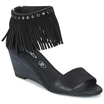 Boty Ženy Sandály LPB Shoes NADIA Černá