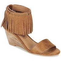 Boty Ženy Sandály LPB Shoes NADIA Velbloudí hnědá