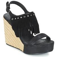 Boty Ženy Sandály LPB Shoes SABINE Černá