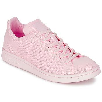 Boty Ženy Nízké tenisky adidas Originals STAN SMITH PK Růžová