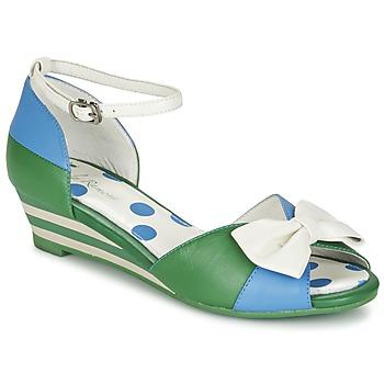 Boty Ženy Sandály Lola Ramona LENNIE Modrá / Zelená