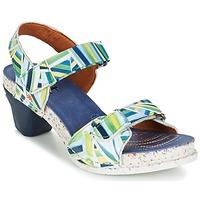 Boty Ženy Sandály Art I  ENJOY Modrá / Zelená