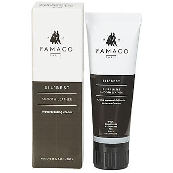 Doplňky  Vosky na boty Famaco Tube applicateur cirage noir 75 ml Černá