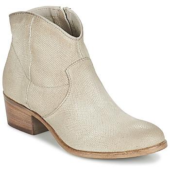 Boty Ženy Kotníkové boty Mjus DONELLA Šedobéžová