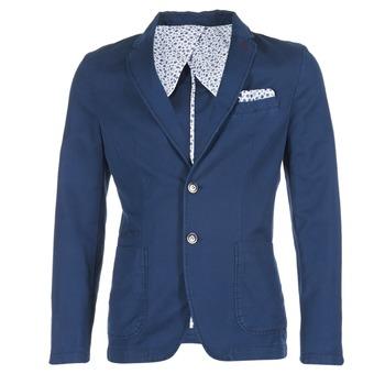 Textil Muži Saka / Blejzry Benetton MASKIOL Tmavě modrá