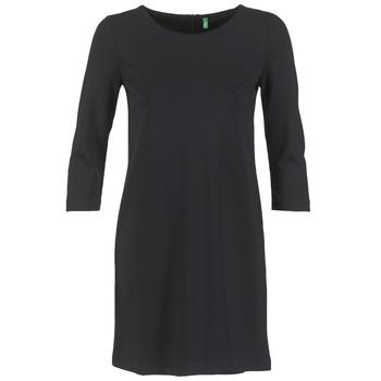 Textil Ženy Krátké šaty Benetton SAVONI Černá