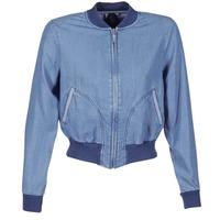 Textil Ženy Riflové bundy Benetton FERMANO Modrá