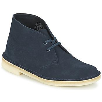 Boty Ženy Kotníkové boty Clarks DESERT BOOT Modrá