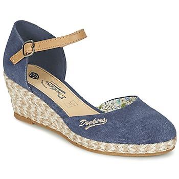 Boty Ženy Sandály Dockers by Gerli AFINOUDE Modrá