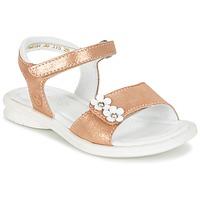 Boty Dívčí Sandály Mod'8 JANAH Zlatá