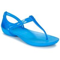 Boty Ženy Sandály Crocs CROCS ISABELLA T-strap Modrá