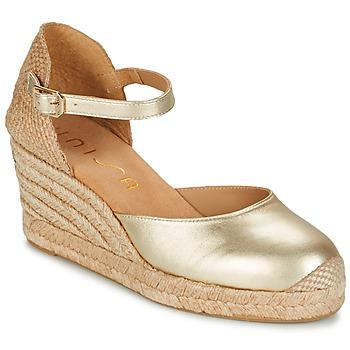 Boty Ženy Sandály Unisa CACERES Stříbřitá